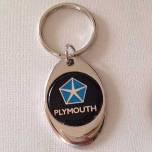 Plymouth Keychains