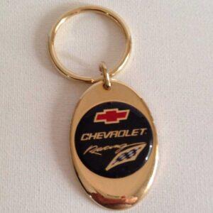 Chevrolet Racing Keychain