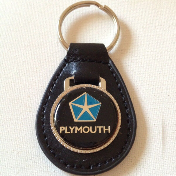 Plymouth Keychain