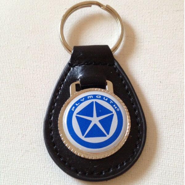 Plymouth Keychain