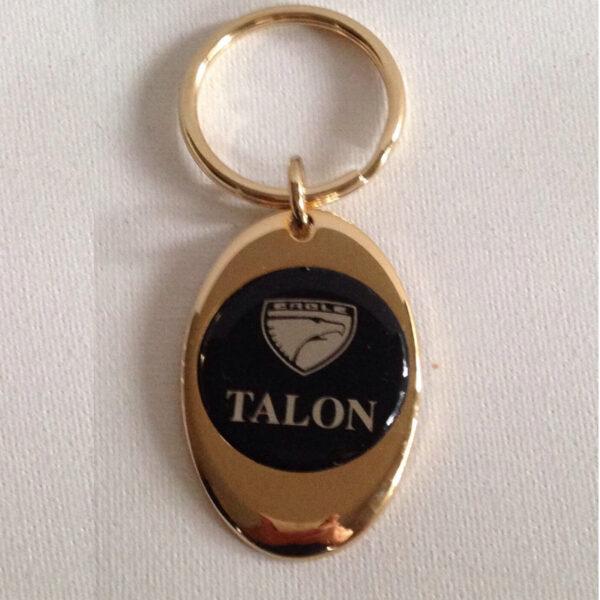 Eagle Talon Brass Keychain