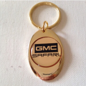 GMC Safari Solid Brass Keychain
