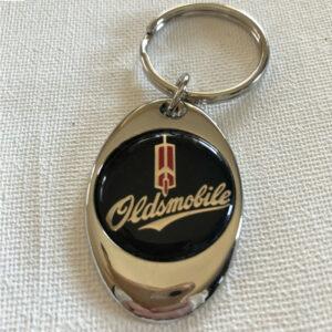 Oldsmobile Chrome Keychain