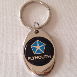 Plymouth Chrome Keychain